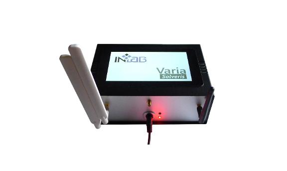 Urządzenie pokazowe CITYBOX Varia - sensory telemetryczne, GPS bez zewnętrznej anteny, anteny LTE i WiFi, 7 calowy wyświetlacz dotykowy LCD, kamera działająca w paśmie podczerwieni do identyfikacji obiektów, raportowanie i zarządzanie z chmury Microsoft Azure, zasilanie sieciowe